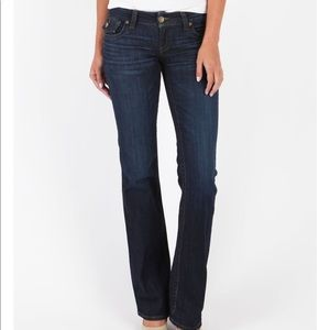 Kut from the Kloth Kate Low Rose Bootcut 14